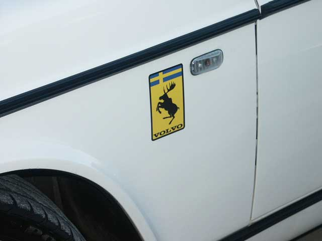 Volvo Prancing Moose Stickers. Dave'a Volvo Page.
