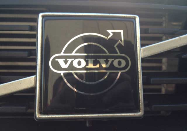 Volvo New Grill Overlay.
