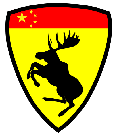 Prancing Moose C Flag China. Dave's                         Volvo Page.
