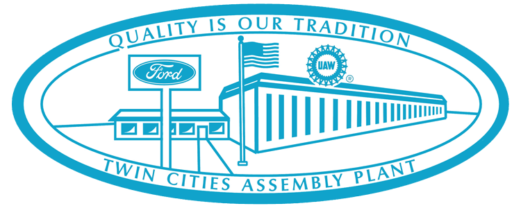 Ford Twin Cities Assemply Plant Decal