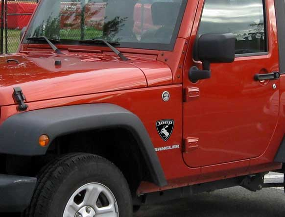 Other Car Stickers - Custom windo decals for jeepsjeep hood decals and stickers custom and replica jeep decals now