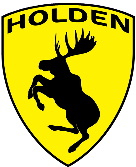 Prancing Moose Holden sticker.