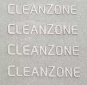 Volvo CleanZone decal.