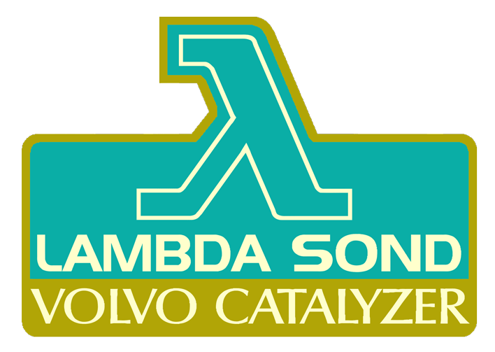 Volvo Lambda Sond decal.