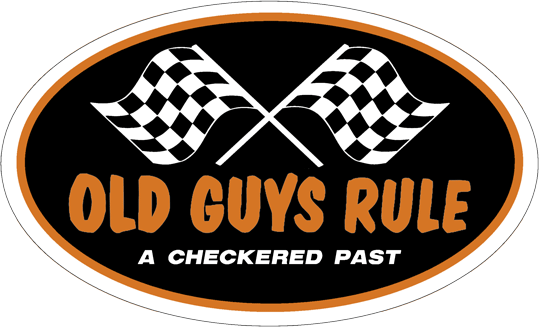 Old Guys Rule sticker