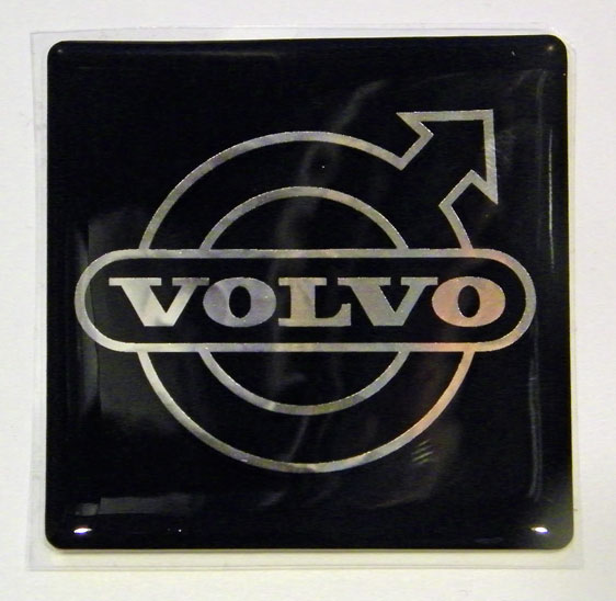 Poly Dome Volvo                             Grill Emblem